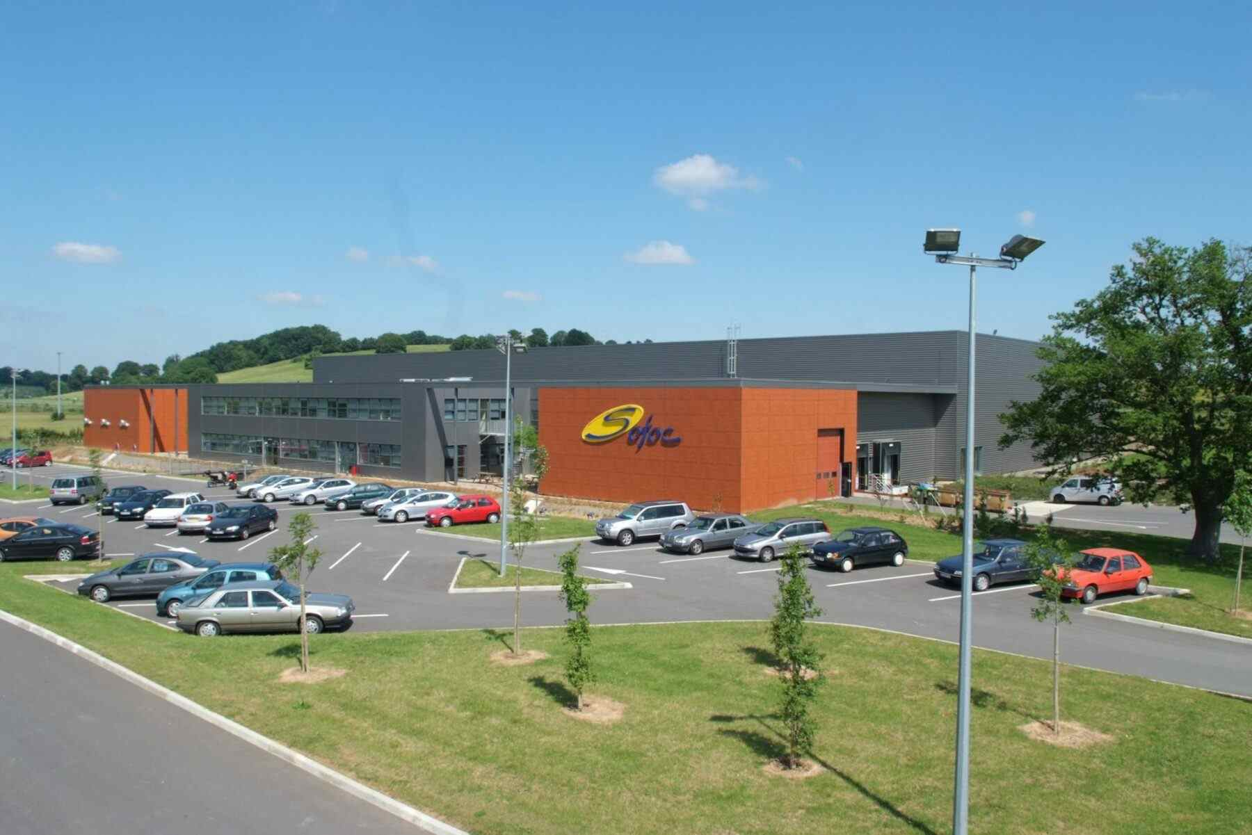 Vertriebszentrum Almar Südmetall Group France