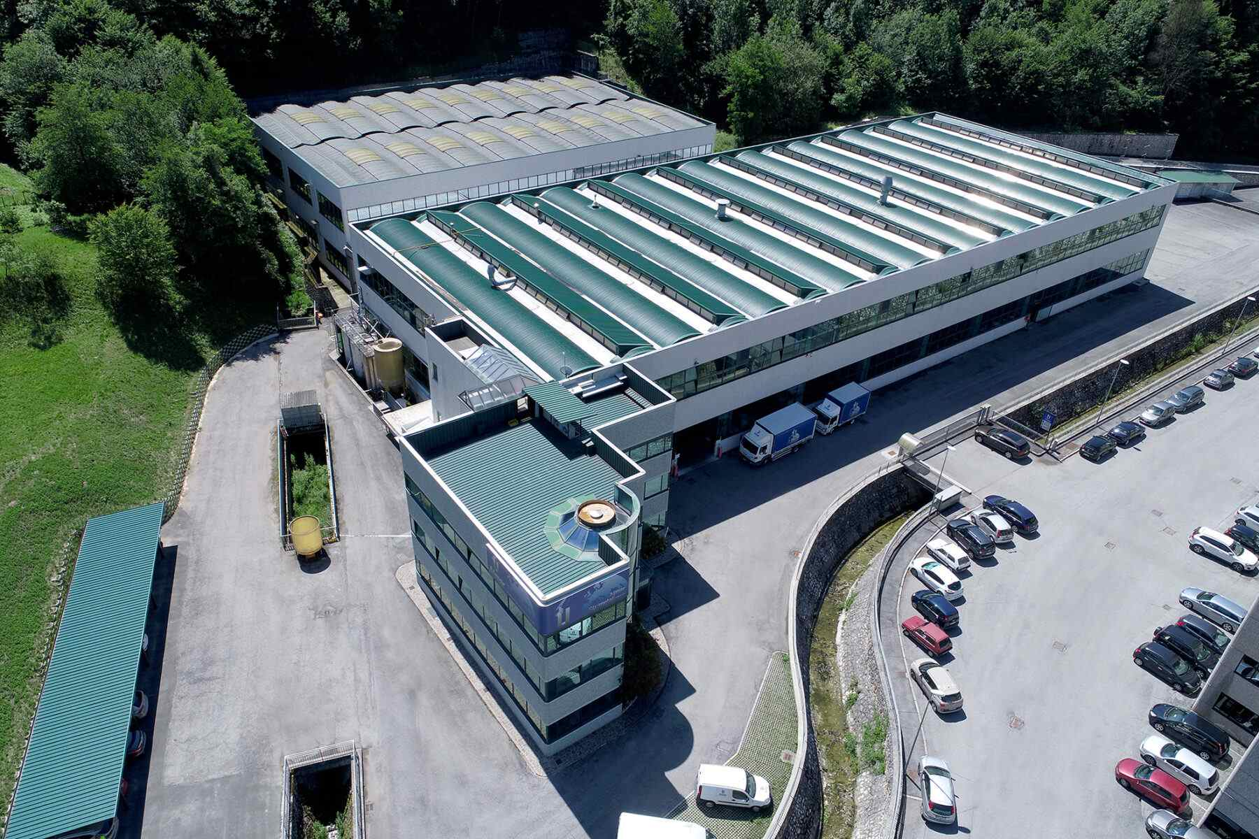 Produktionsstätte Almar Spa in Nozza di Vestone / Italien