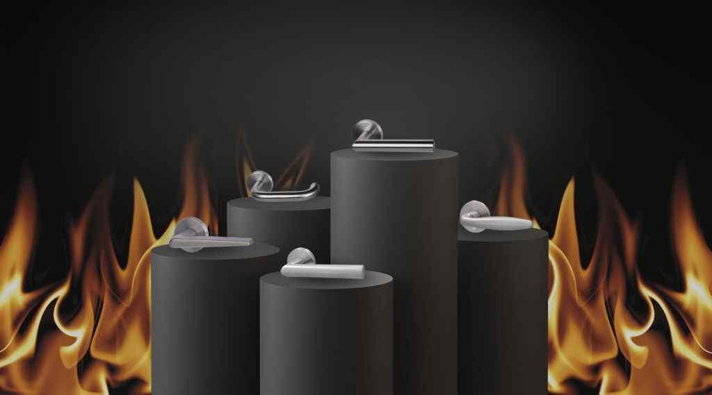 Brandschutzbeschläge - Feuerschutz-Garnituren von Südmetall entsprechen der DIN 18273