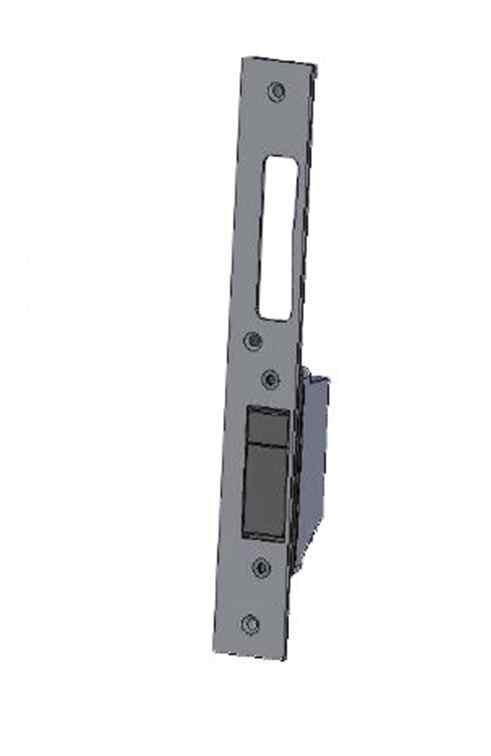 U-Schließblech für Vollblatttüren für ÜLock Inductive